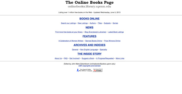 online-books-page